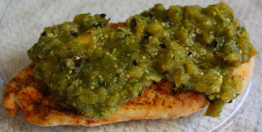 ... tomatillo salsa verde. Let me know if you make it! I'd love to hear