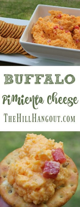 Buffalo Pimiento Cheese from TheHillHangout.com