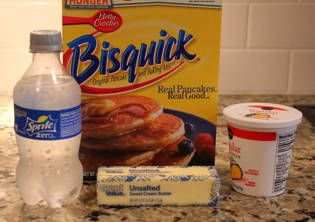 Ingredients1 1024x723 7 Up Sour Cream Biscuits