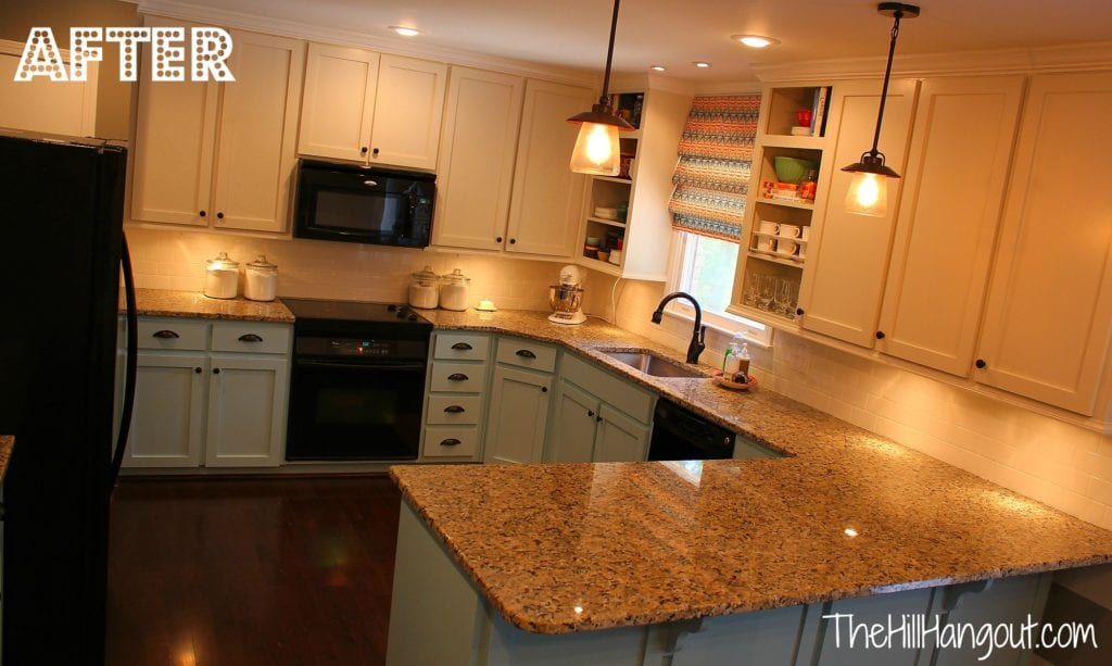 How Much Should Soffits Overhang Upper Kitchen Cabinets
