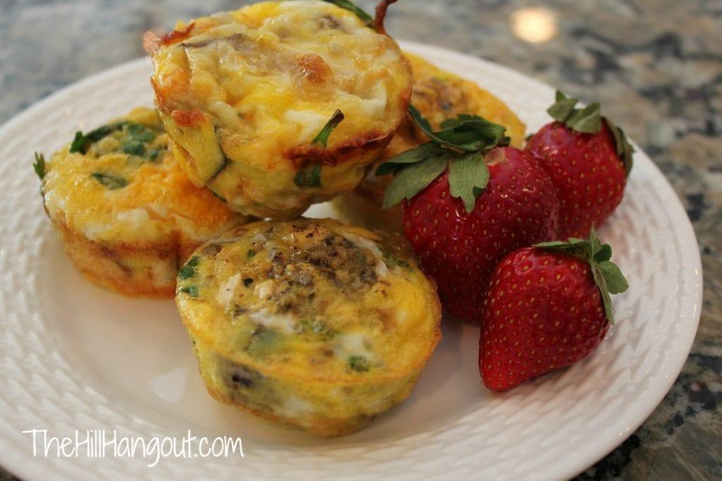 Egg Muffins 5 1024x682 Omelet Muffin Bar