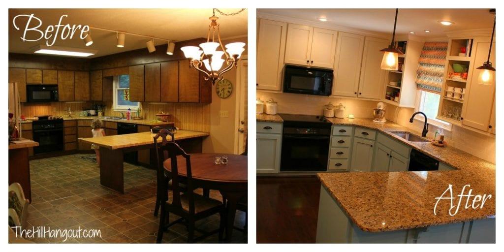 our kitchen renovation. Black Bedroom Furniture Sets. Home Design Ideas