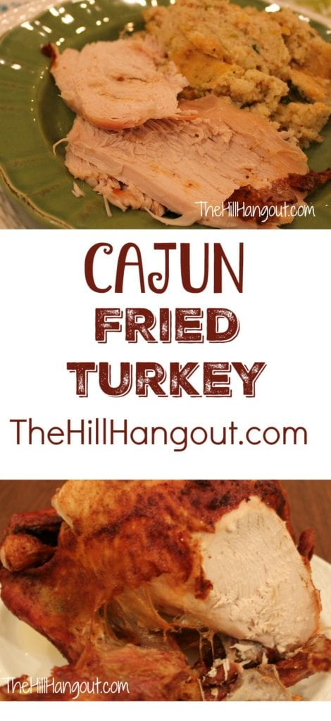 Cajun Fried Turkey from TheHillHangout.com