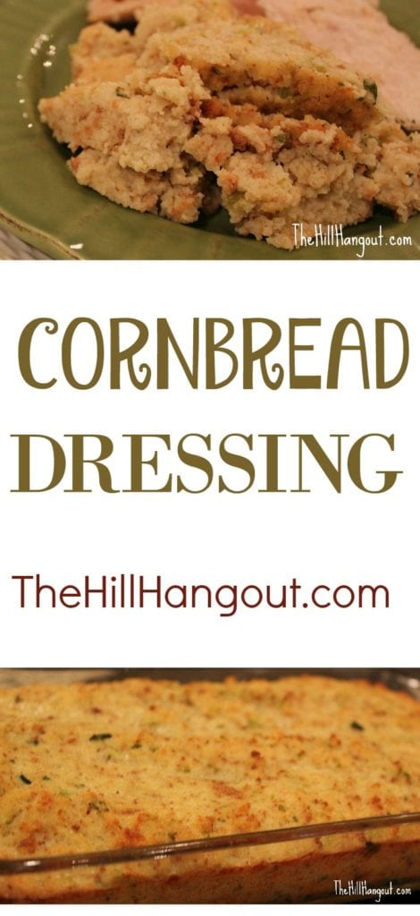 Cornbread Dressing from TheHillHangout.com