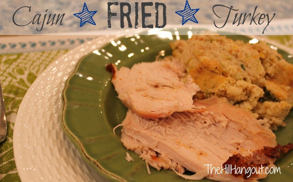 cajun turkey recipe