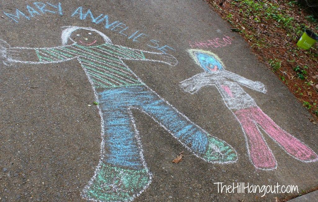 Chalk Portraits