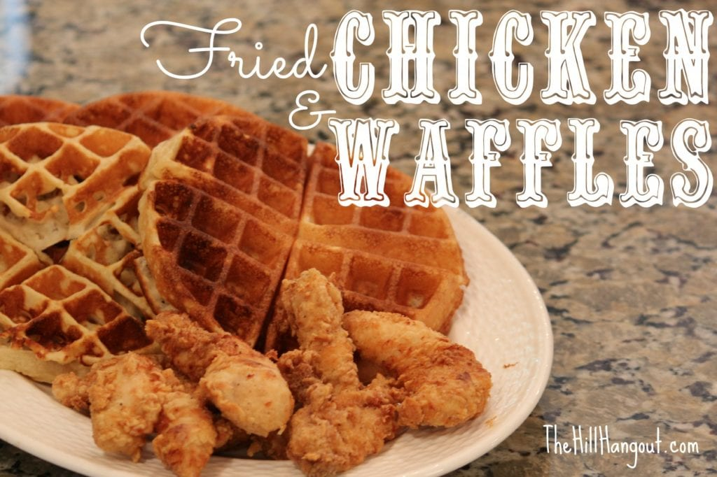 Fried Chicken And Waffles Fried chicken and waffles