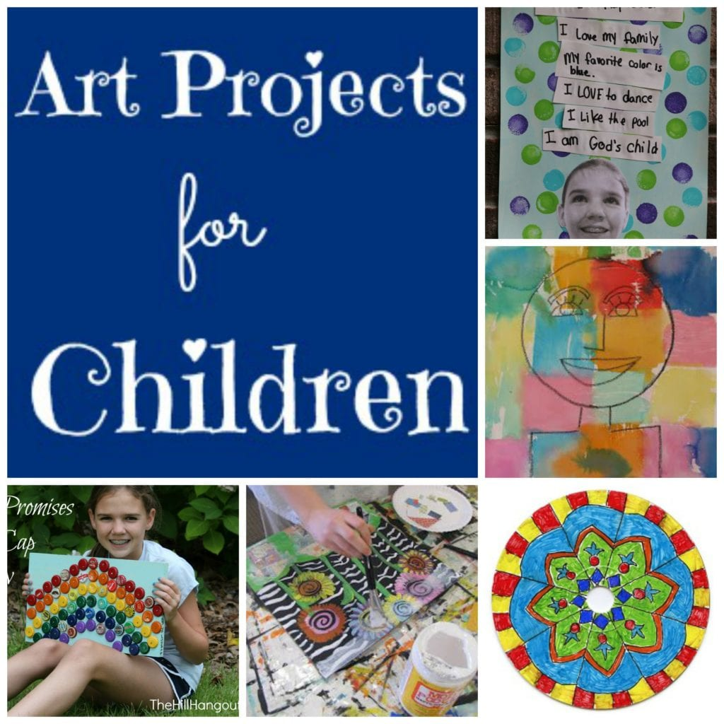 10 More Art Projects For Children The Hill Hangout