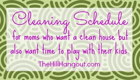 Haul Away Furniture Cleaning Schedule for Busy Moms