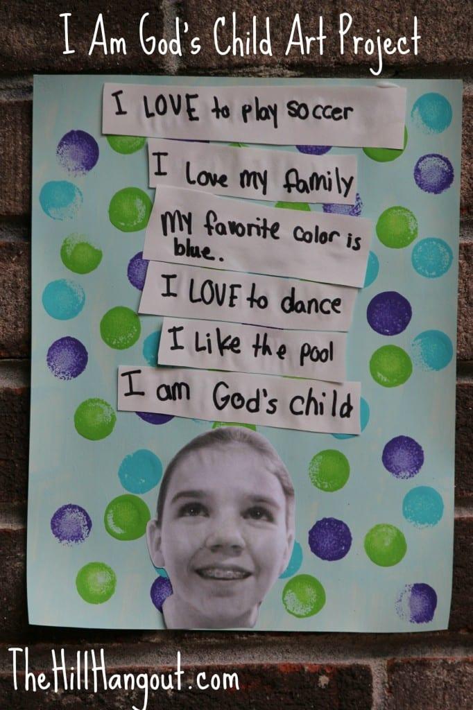 Gods Child Art Project