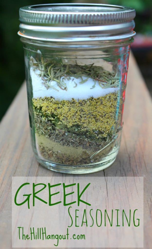 Greek seasoning from scratch for Best seasoning for fish