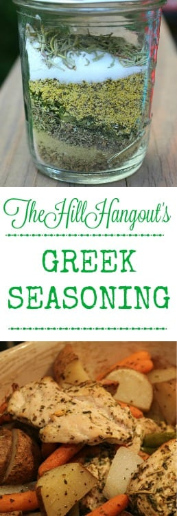 Greek Seasoning from TheHillHangout.com