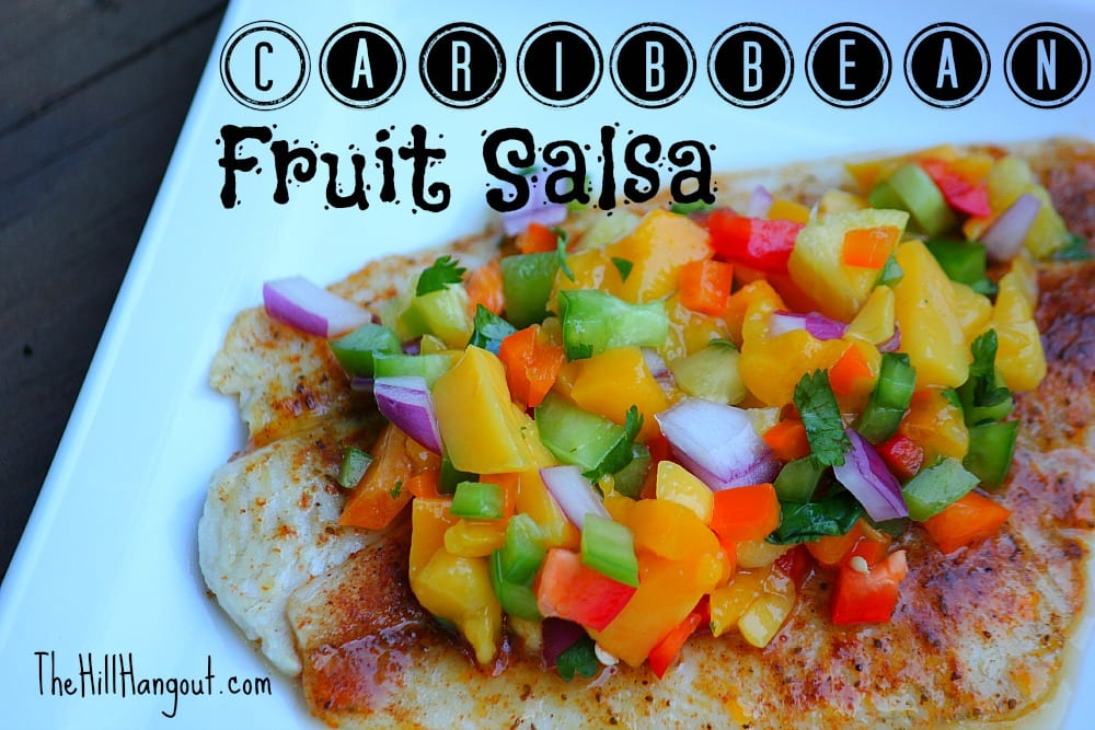 Caribbean Fruit Salsa from TheHillHangout.com
