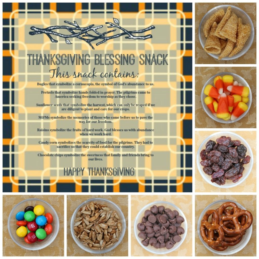 Collage 1024x1024 Thanksgiving Blessing Snack