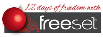 12 days of freedom 12 Days of Freedom (With a CyberMonday Deal)
