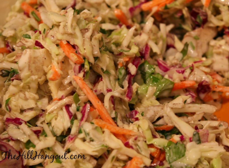 Fish tacos for Coleslaw for fish tacos