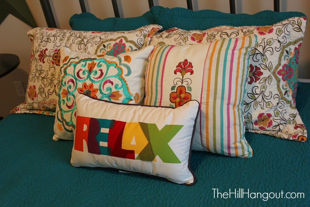 kids pillows aTeam Ministries Apartment: Kids Bedroom Reveal