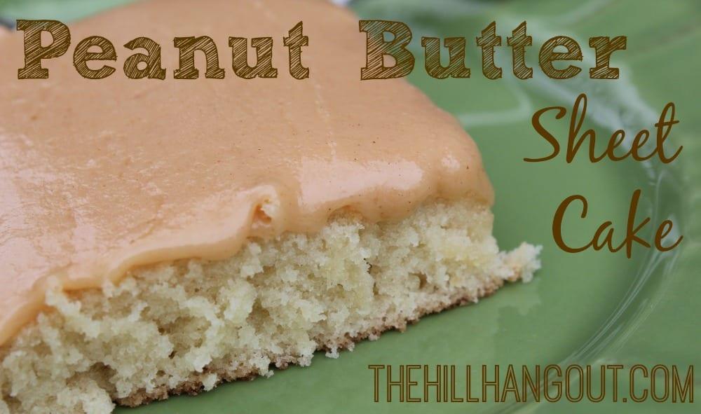 Texas Sheet Cake Recipe With Peanut Butter Icing