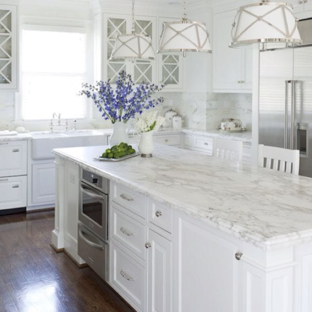 Calacatta Marble Kitchen: Trends In Stone Countertops