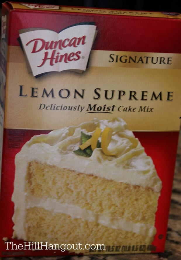 cake mix Lemon Lilt Cake