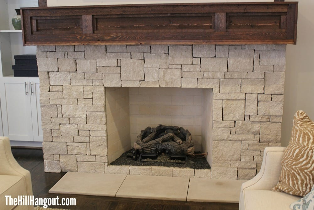 den fireplace Birmingham Parade of Homes