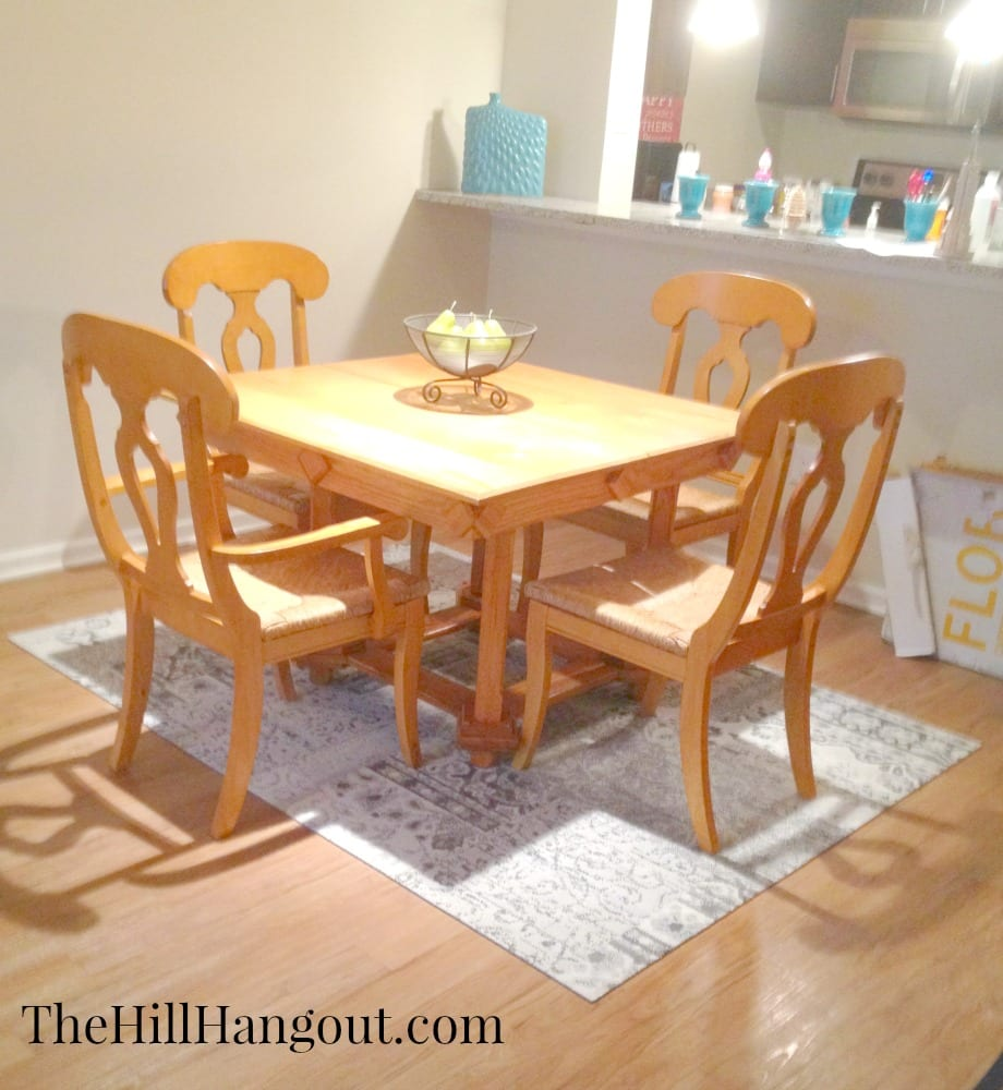 dining room aTeam Apartment Reveal: Dining Room and Den