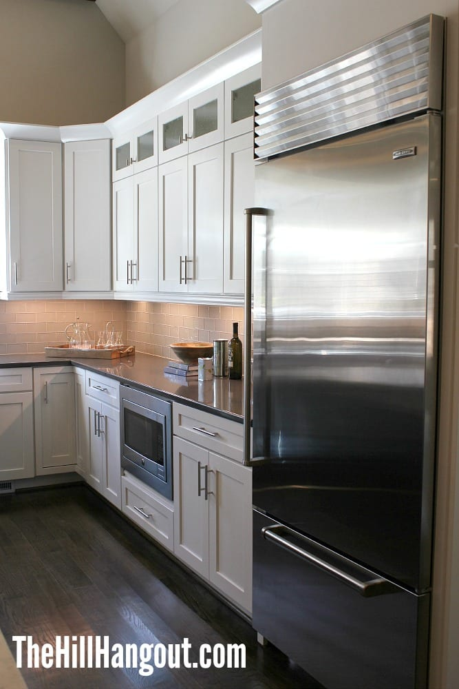 kitchen fridge Birmingham Parade of Homes