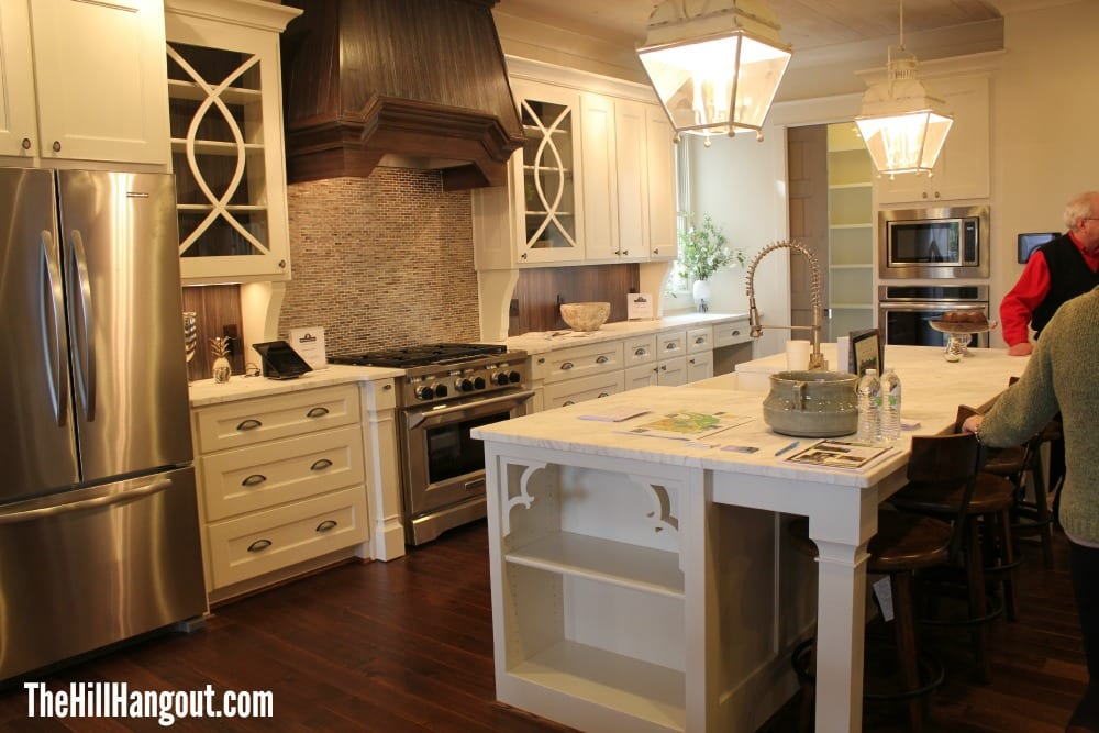Adjoining The Dining Room Is Light Bright Kitchen