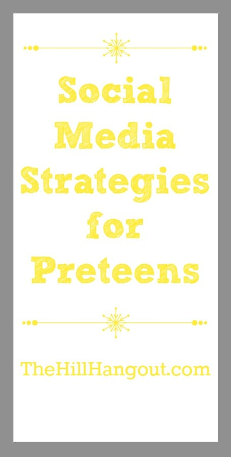 "alt=""Social MediaStrategies for Preteens"""