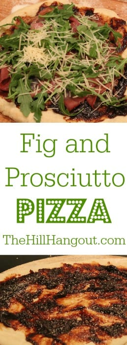 Fig and Prosciutto Pizza from TheHillHangout.com