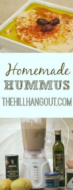 Hummus Recipe from TheHillHangout.com