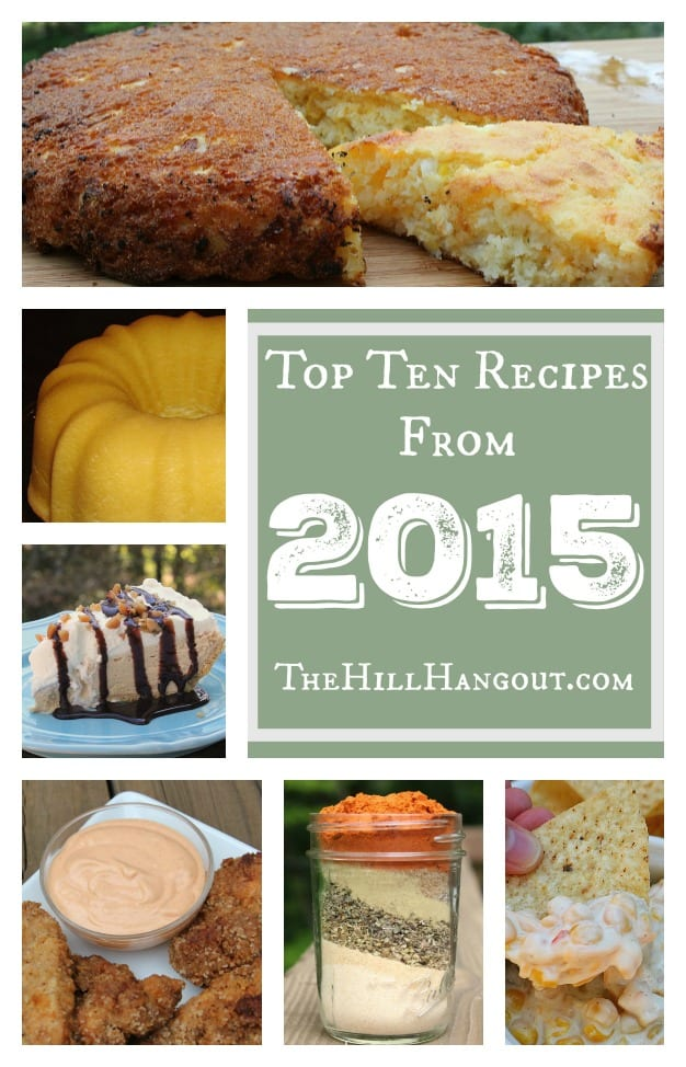 Top 2015 Recipes