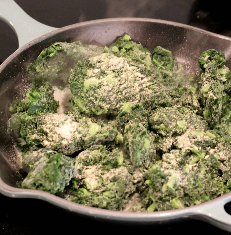 Creamed Kale from TheHillHangout.com