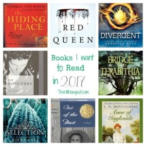 Books I Want to Read in 2017 - Teen Edition from TheHillHangout.com