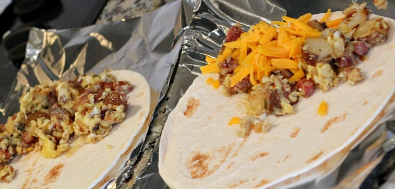 Breakfast Tacos: Alabama Style from TheHillHangout.com