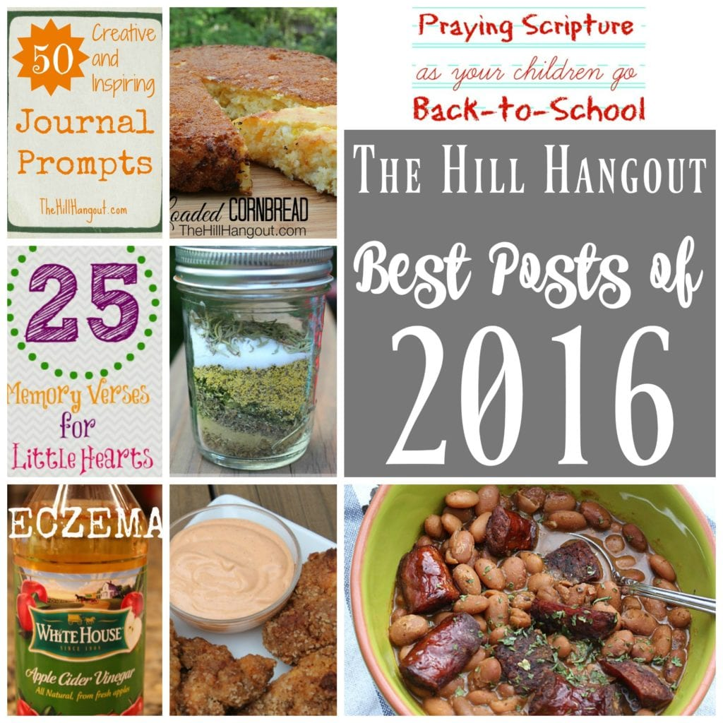 Best Posts of 2016 from TheHillHangout.com