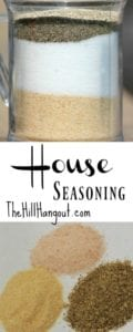 House Seasoning from TheHillHangout.com