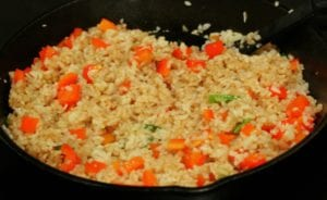 Healthy-ish Fried Rice from TheHillHangout.com