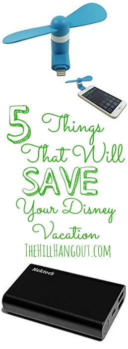 5 Things That Will Save Your Disney Vacation