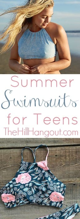 Summer Swimsuits for Teens from TheHillHangout.com