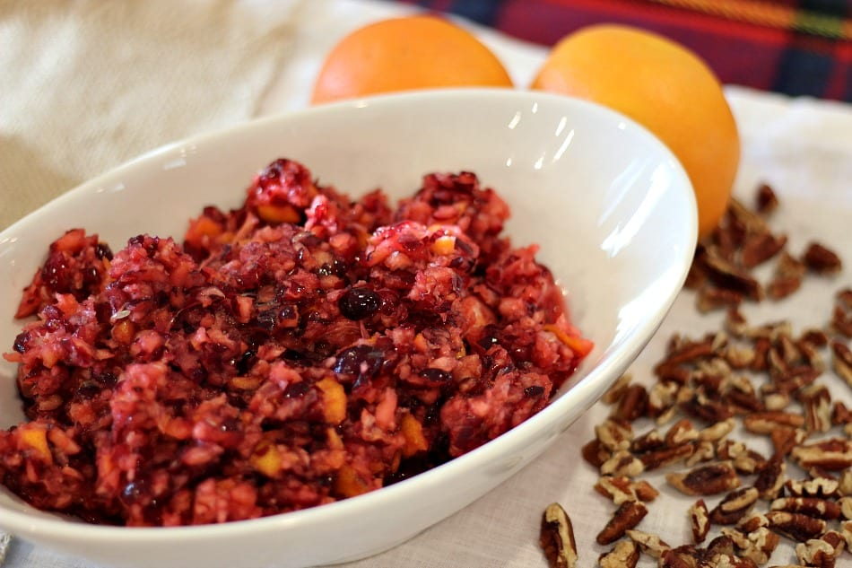 Cranberry Orange Relish fron TheHillHangout.com