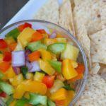 Caribbean Fruit Salsa